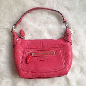 NWOT Coach Penelope vermilion red shoulder bag